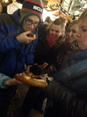 GIANT pretzel to share.