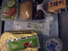 I think airplane meals are just cute.