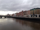 Back to Dublin along the River Liffey.