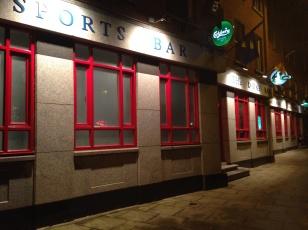 Our pub.