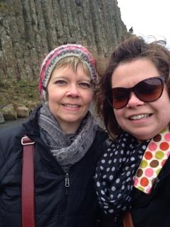 Mum and I.