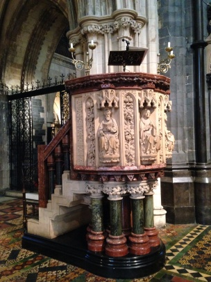 How would you like to preach from that pulpit?